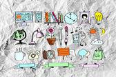 Hand doodle Business doodles — Stock Photo