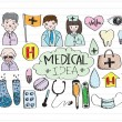 Medical icons — Vettoriale Stock #41564917
