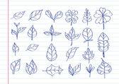 Leaf icon idea design — Stock Vector