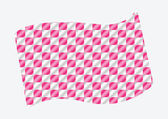 Pink Racing flags Background — Stock Vector