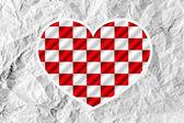 Corazón y el día de san valentín — Foto de Stock