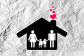 People Family icon — Stock Photo
