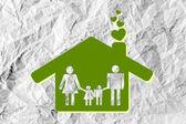 People Family icon — Foto Stock