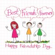 Постер, плакат: Best Friends Forever idea design