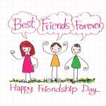 Постер, плакат: Best Friends Forever idea design