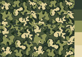 Camouflage pattern design — Stock Vector