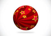 Abstract 3d sphere illustration for your design — Stock Photo