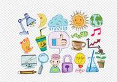 Hand doodle Business doodles — Stock Vector