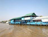 Floating village  Tonle sap lake. Cambodia — Stock Photo