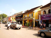 Siem Reap market Cambodia — Stock Photo