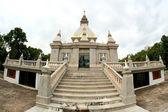 Pagodas at Wat TAM PIANG DIN  ,Loei Province , Northeast of Thai — Stock Photo