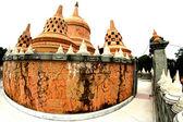 Hdr-Bilder der Pagode in Wat Pa Kung, Roiet Provinz Thailand — Stockfoto