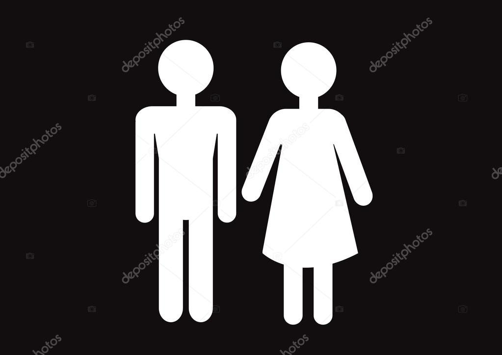Men and women toilet sign stock photos  Shutterstock