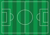 Campo di calcio o calcio con texture erba — Vettoriale Stock