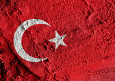 Flag of Turkey themes idea design — Stock Photo