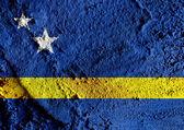 Curacao flag themes idea design — Stock Photo