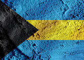 National flag of the Bahamas themes idea design — Stock Photo