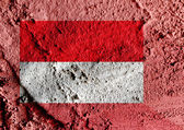 Illustration of the flag of Indonesia — Stock Photo