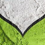 Speech Bubble Pop Art on Cement wall texture background design — Stock Photo #51158983