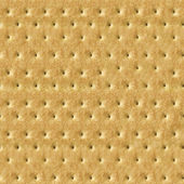 Seamless Detailed Salty Cracker Close-Up Texture — Stock Photo