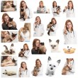 Veterinary doctor — Stock Photo