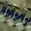 Stock Video: Drummer girls