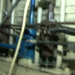 Stock Video: Automated machinery from factory