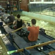 Rowing training - Foto de Stock