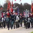 Stock Video: Russian military band