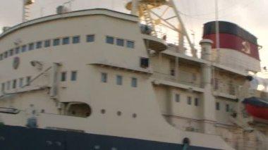 船 krasin — ストックビデオ