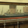 Stock Video: Models of ships