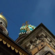 Stock Video: Saviour on Spilled Blood Cathedral. Sankt-Petersburg