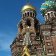 The Saviour on the Spilled Blood Cathedral. Sankt-Petersburg — Stock Video #13218498