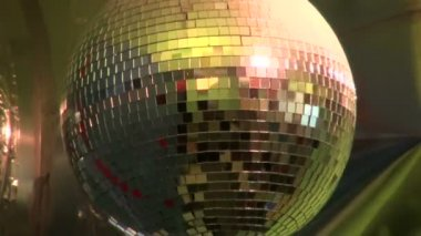 Discoball lights — Stock Video