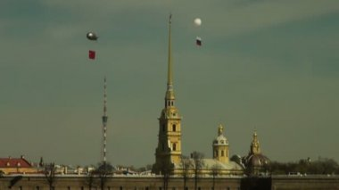 St.Peter and Paul Cathedral — Stock Video