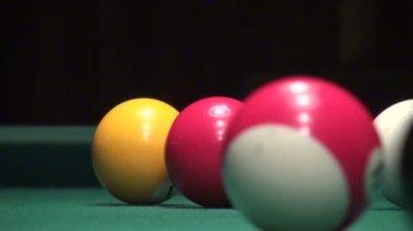 American Billiards. — Stock Video