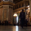The interior of an orthodox church — Stock Video #15455331