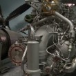 Turbojet aircraft engine  — Stock Video