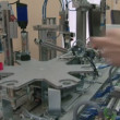 Stock Video: Model of automated factory