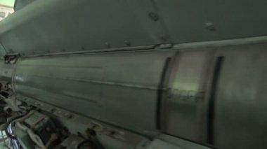 Ballistic missile — Stock Video