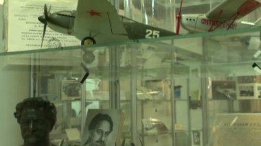 Model uçak Müzesi — Stok video