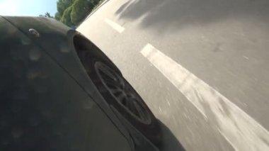 Stream of cars — Stock Video