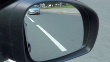 Ström av bilar — Stockvideo