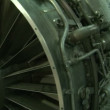 Vídeo de stock: Turbine engine aircraft