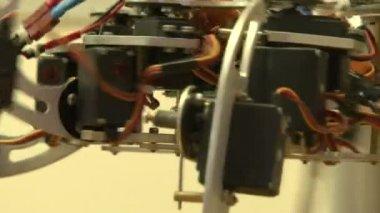 Spider robot — Stock Video