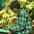 Boy pianist — Stock Video #16351493