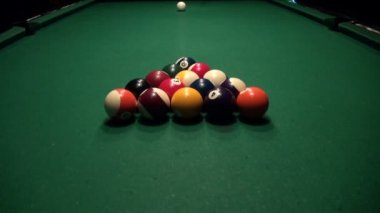 American Billiards — Stock Video