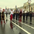 Stock Video: Russifolk dance
