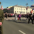 Festive parade — Vídeo de stock #17891447