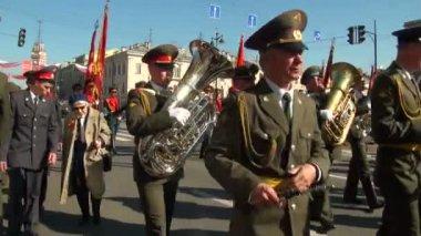 Desfile festivo — Vídeo de stock